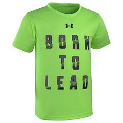 Boys 4-7 Under Armour 'Born To Lead' Graphic Tee