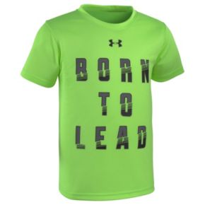 "Boys 4-7 Under Armour ""Born To Lead"" Graphic Tee"