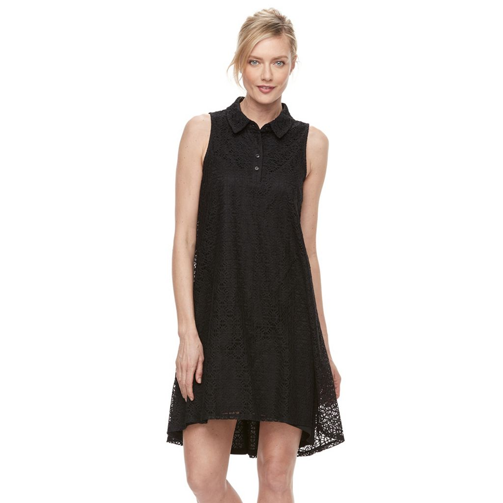 Women's Dana Buchman Lace Shirtdress