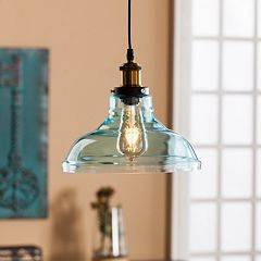 Narini Colored Glass Bell Pendant Lamp
