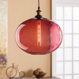 Murphy Colored Glass Pendant Lamp