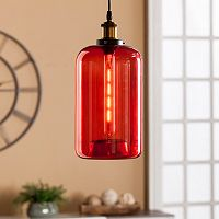 Cassius Colored Glass Mini Pendant Lamp