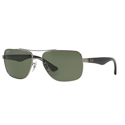984c46874b Ray-Ban Highstreet RB3483 60mm Square Polarized Sunglasses