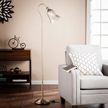 Mincio Art Glass Floor Lamp