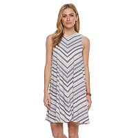 Petite SONOMA Goods for Life™ High Neck Trapeze Dress