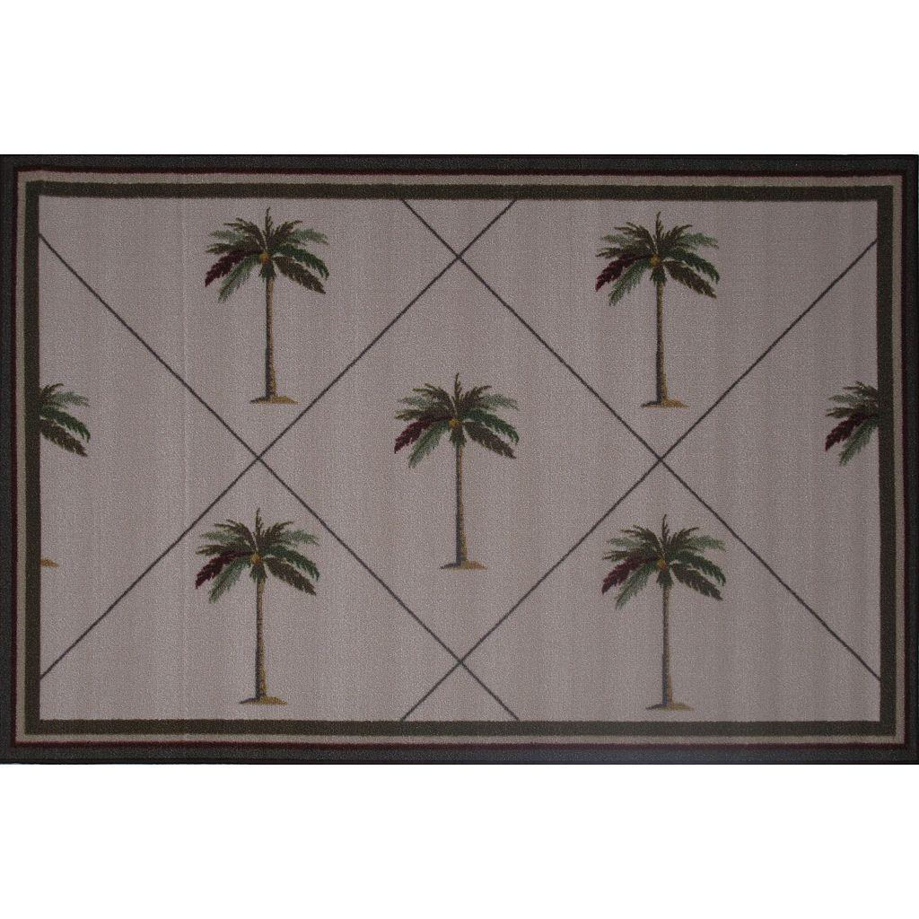 Fun Rugs Fun Time Palm Fronds Rug - 3'3'' x 4'10''