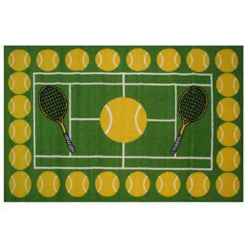 Fun Rugs Fun Time Tennis Time Rug - 3'3'' x 4'10''