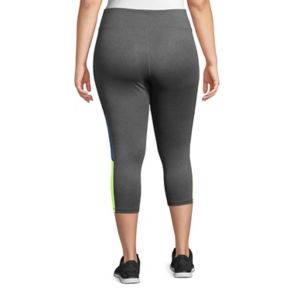 Plus Size Just My Size Colorblock Capri Leggings