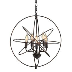 Simion 5-Light Orb Pendant Lamp