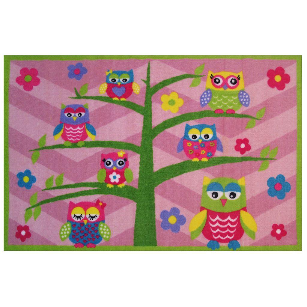 Fun Rugs Fun Time Hoo Hoo Owl Rug - 3'3'' x 4'10''
