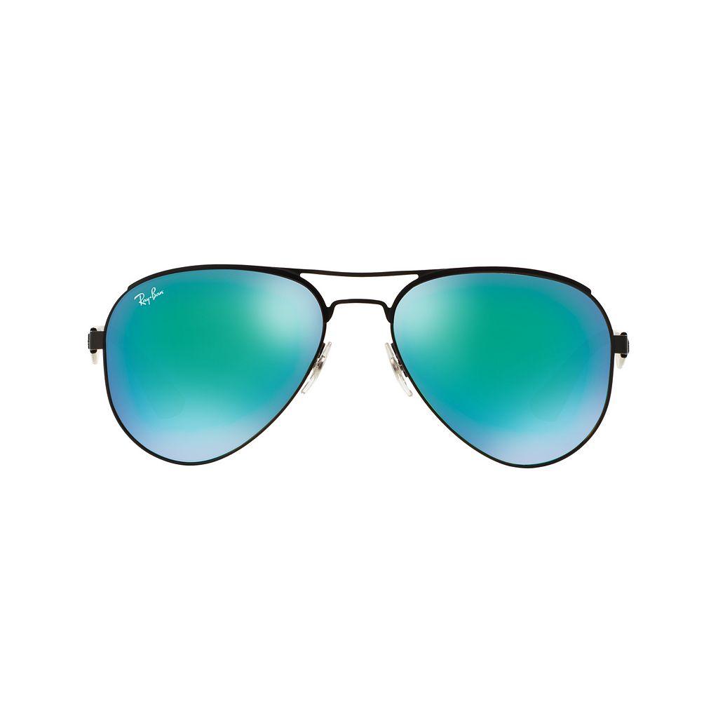 Ray-Ban Highstreet RB3523 59mm Aviator Mirror Sunglasses