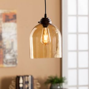 Rudloe Colored Glass Mini Pendant Lamp