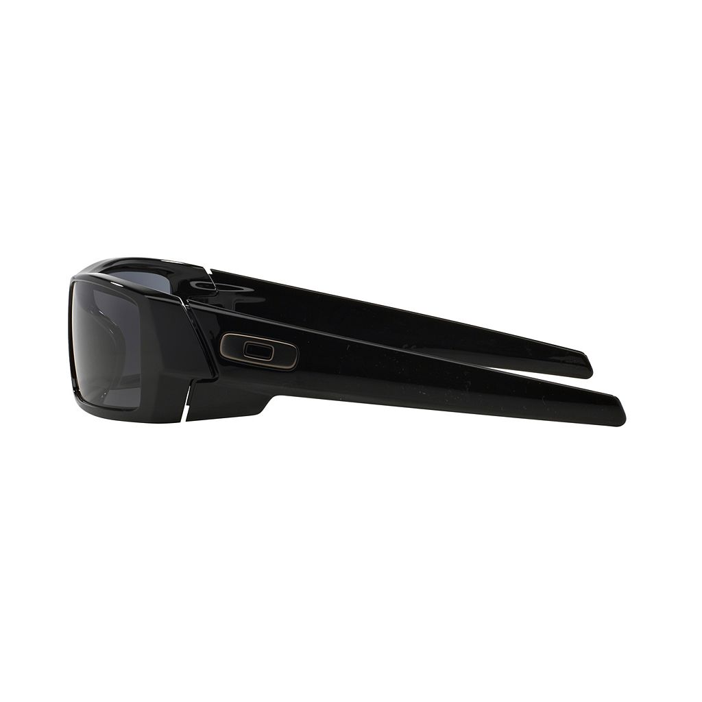 Oakley Gascan OO9014 60mm Rectangle Wrap Sunglasses