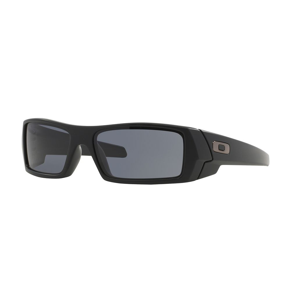 7aec2ae8463 Oakley Gascan OO9014 60mm Rectangle Wrap Sunglasses