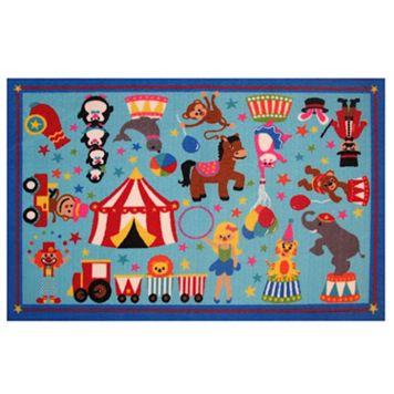 Fun Rugs Fun Time Circus Life Rug - 3'3'' x 4'10''