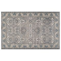 Momeni Kerman Treasure Framed Floral Rug