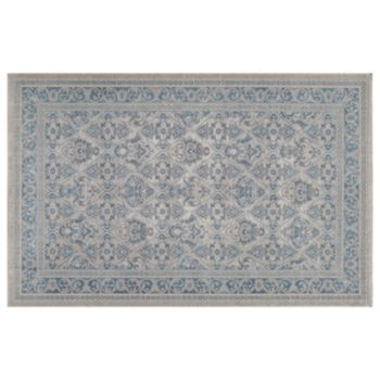 Momeni Kerman Adornment Framed Medallion Rug