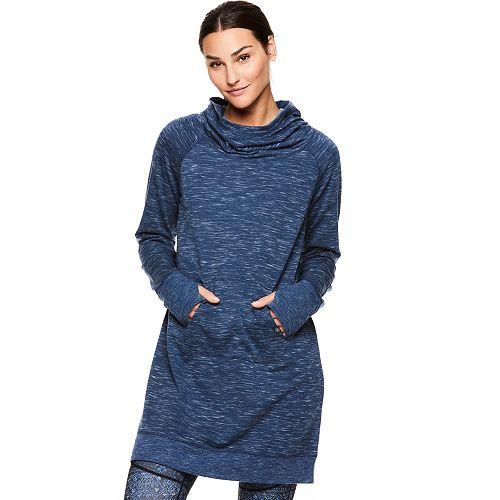 Women's Gaiam Serene Fleece Yoga Dress