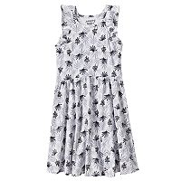 Girls 4-10 Jumping Beans® Pattern Flutter Sleeves Dress