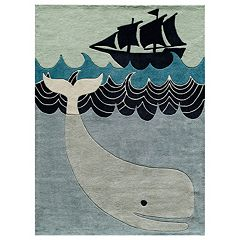 Momeni Lil Mo Whimsy Whale Rug
