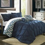 Chic Home 7 pc Trenton Oversized Comforter Set