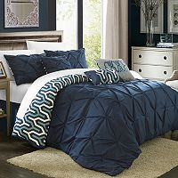 Chic Home 7 pc Trenton Oversized Comforter Set