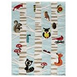 Momeni Lil Mo Whimsy Outdoor Friends Rug
