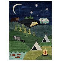 Momeni Lil Mo Whimsy Campsite Rug
