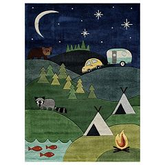 Momeni Lil Mo Whimsy Campsite Rug
