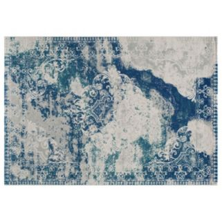 Momeni Loft Merrick Framed Scroll Rug