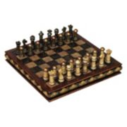 Faux Marble Chess Board 33-piece Set
