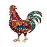 Napier Rooster Pin