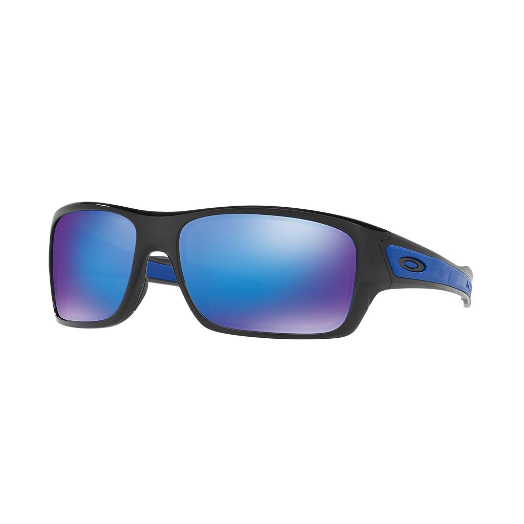 Oakley Turbine OO9263 65mm Rectangle Sunglasses