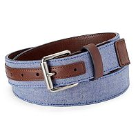 Men's Urban Pipeline® Chambray Belt