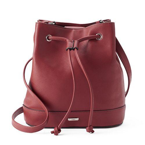 Chaps Ay;a Drawstring Bucket Bag Kohls