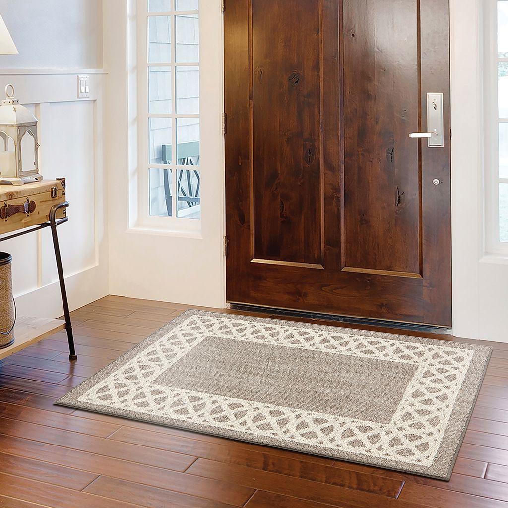 Mohawk® Home Augusta Cross Point Geometric Framed Rug