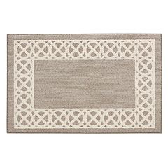 Mohawk® Home Augusta Cross Point Geometric Framed Rug
