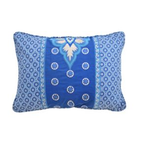 Waverly Moonlit Shadows Embroidered & Pieced Throw Pillow