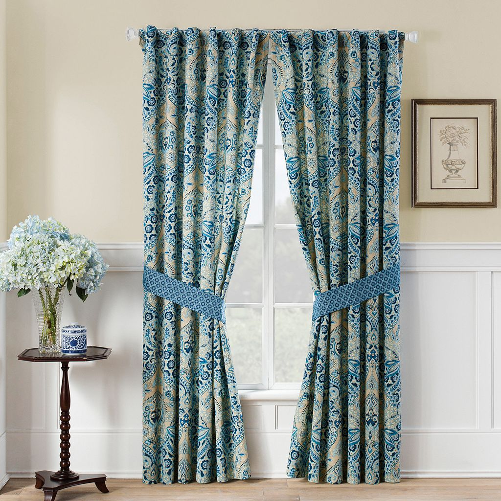 Waverly 2-pack Moonlit Shadows Curtain