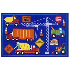 Fun Rugs Fun Time Men At Work Rug - 3'3'' x 4'10''