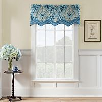Waverly Moonlit Shadows Wave Valance