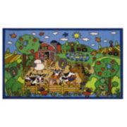 Fun Rugs Fun Time Happy Farm Rug - 3'3'' x 4'10''
