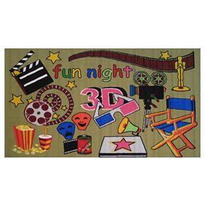 Fun Rugs Fun Time Movie Time Rug - 3'3'' x 4'10''
