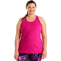 Plus Size Just My Size Racerback Tank