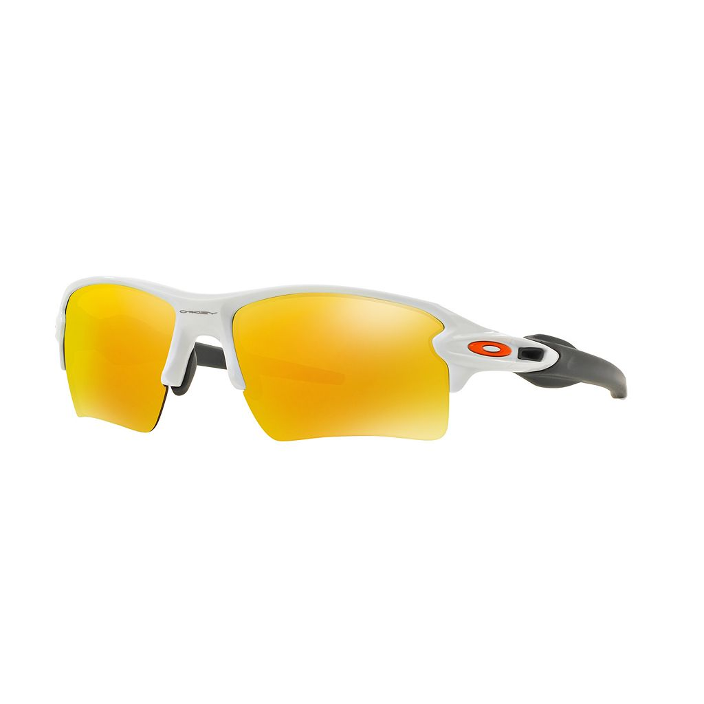 Oakley Flak 2.0 XL OO9188 59mm Wrap Sunglasses