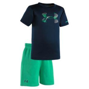 Baby Boy Under Armour Hyper Logo Tee & Shorts Set