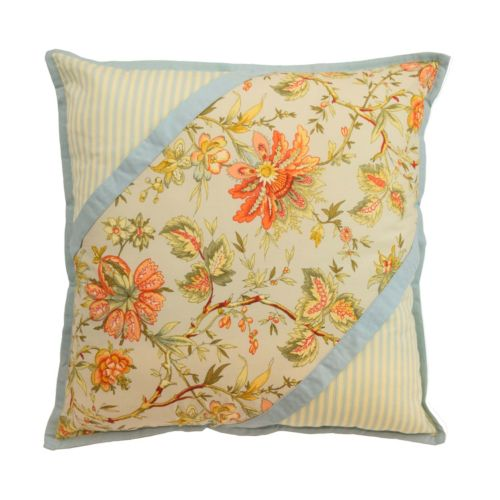 Waverly Felicite Pieced Throw Pillow