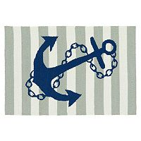 Kaleen Sea Isle Anchor Rug