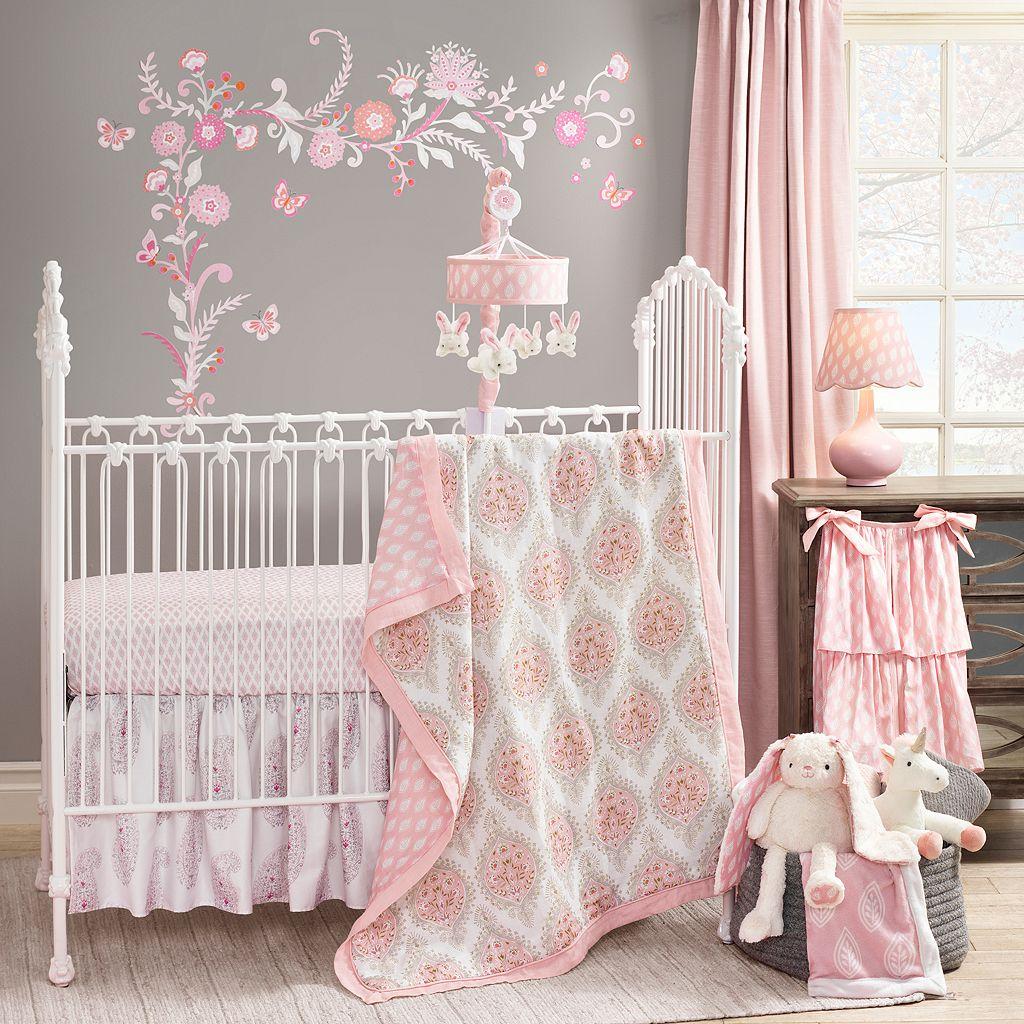 Happi by Dena 4-pc. Charlotte Hearts Crib Bedding Set by Lambs & Ivy