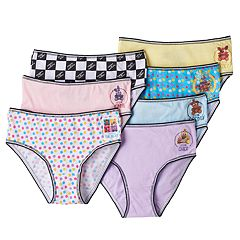 Girls 4-10 Friday Night at Freddy's Bonnie, Chica & Freddy 7-pk. Brief Panties
